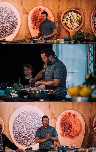 Chef Mark Southon - Fieldays NZ